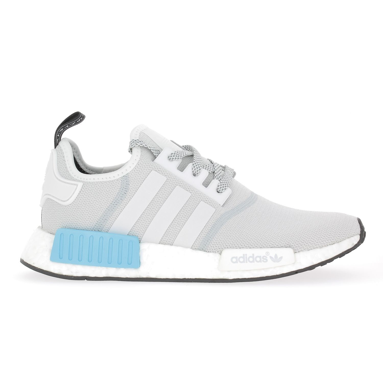 design de qualité 57a51 71416 Réduction authentique adidas nmd blanche bleu Baskets ...