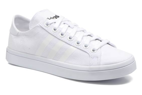Réduction authentique adidas originals court vantage Baskets