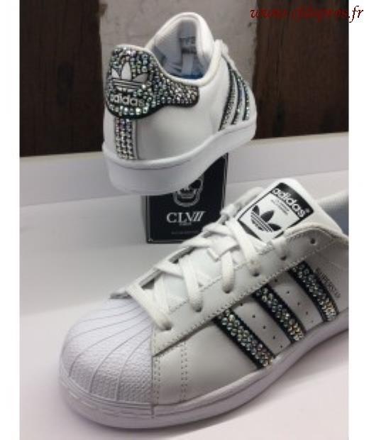 079b63caaa0 Réduction authentique adidas superstar avec strass Baskets - panier ...