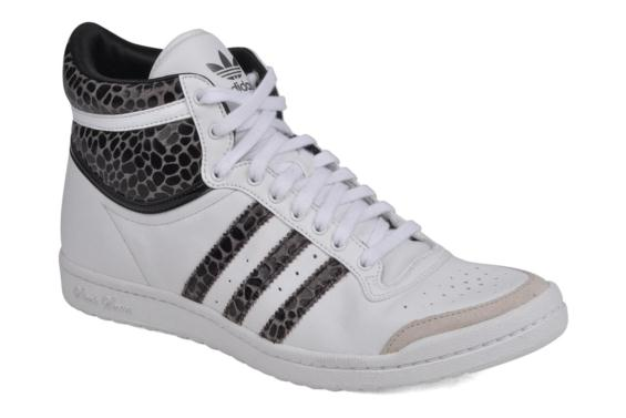 new products a69f4 84989 adidas top ten hi femme