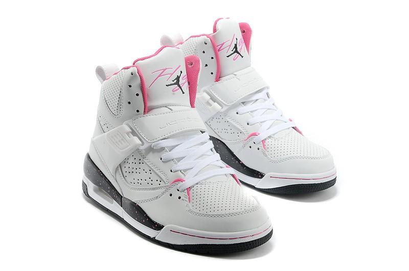 Réduction Authentique Air Rose Femme Baskets Blanche Et Jordan OX0k8nPw
