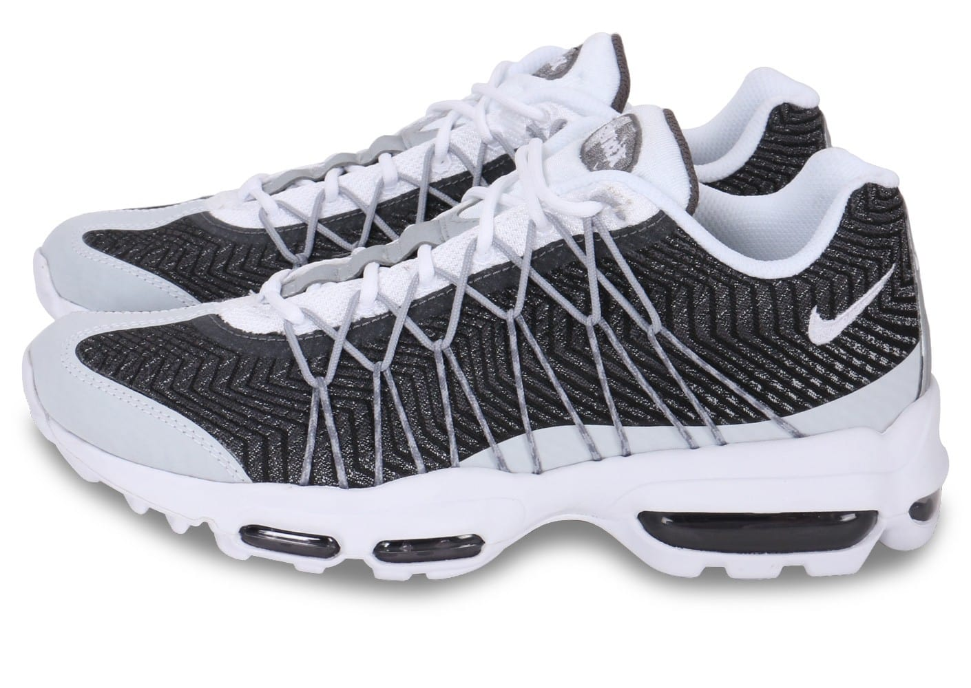 07dcc36315dba Réduction authentique air max 95 jacquard blanc gris Baskets ...