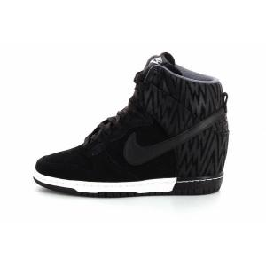 official photos a1e26 492f6 basket compensee nike dunk sky femme