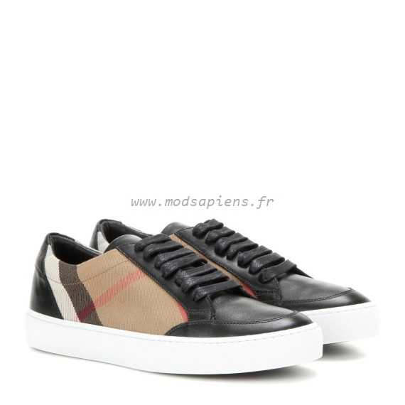 Femme Réduction Cher Authentique Burberry Basket Pas Baskets WEDH29IY