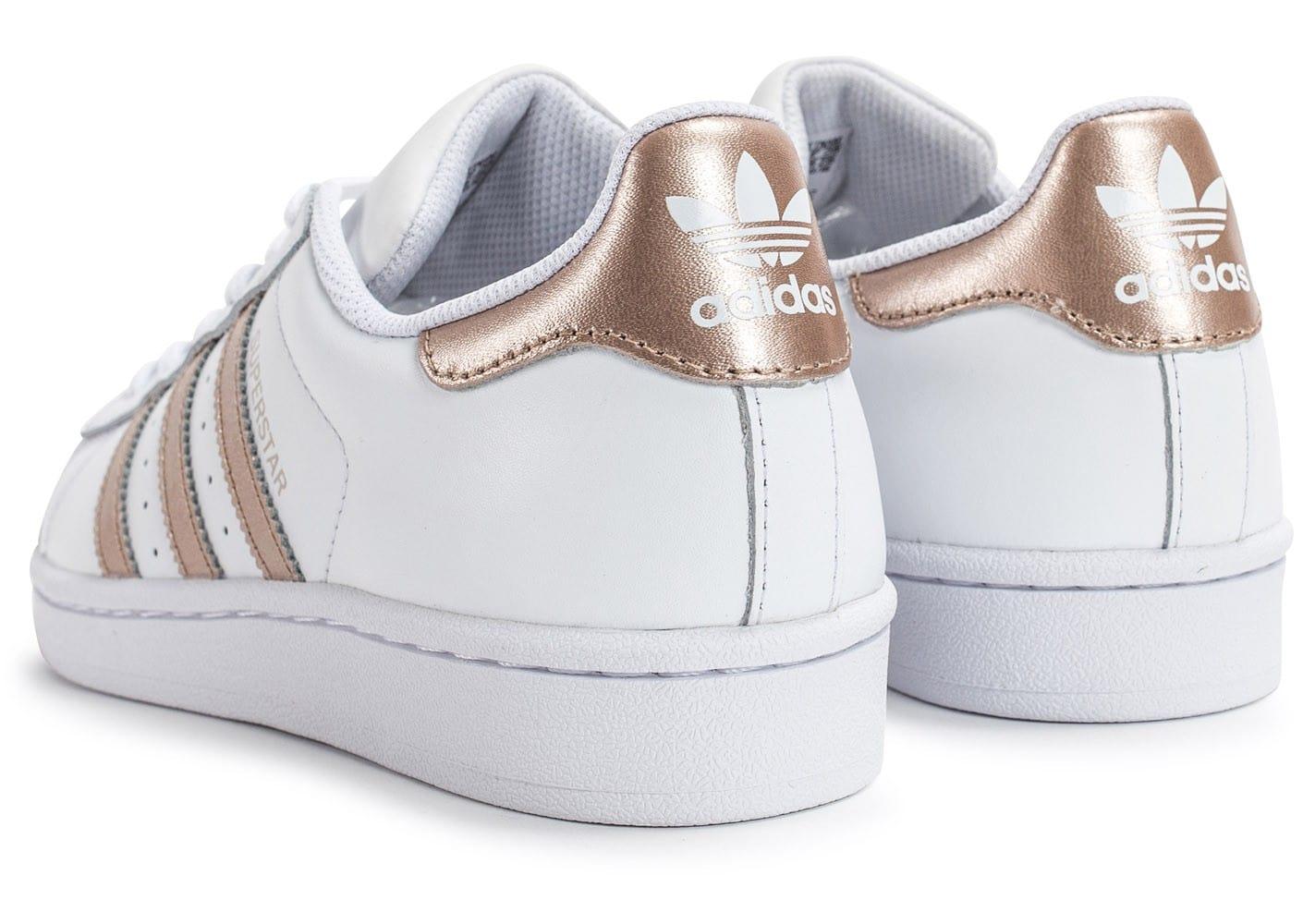 chaussures de sport 37038 a3074 basket adidas femme rose gold